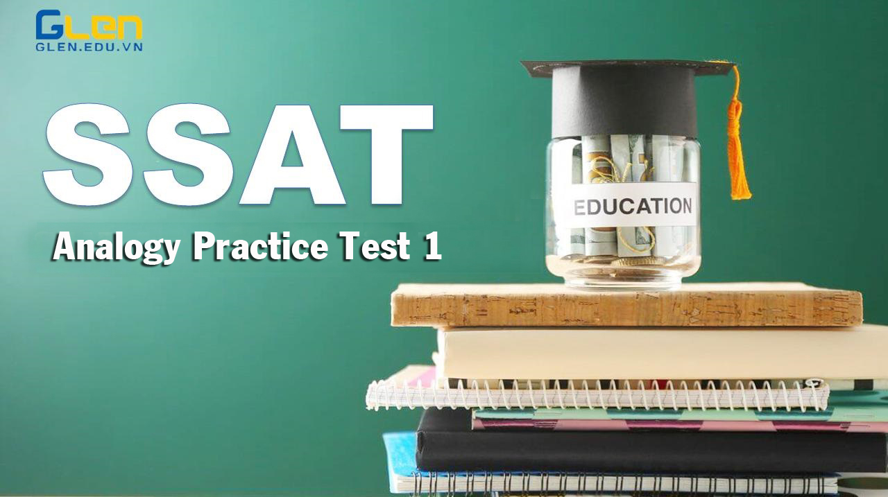 SSAT  Analogy Practice Test 1